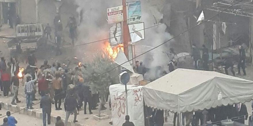 YPG, Afrin'e bomba yüklü araçla saldırdı