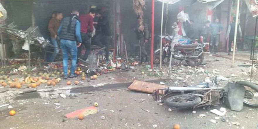 YPG, Afrin'e saldırdı