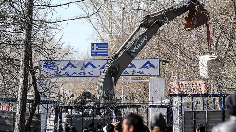 Yunanistan sığınmacılara duvar örüyor
