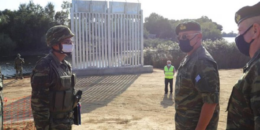 Yunanistan Türkiye arasında duvarlar yükseliyor