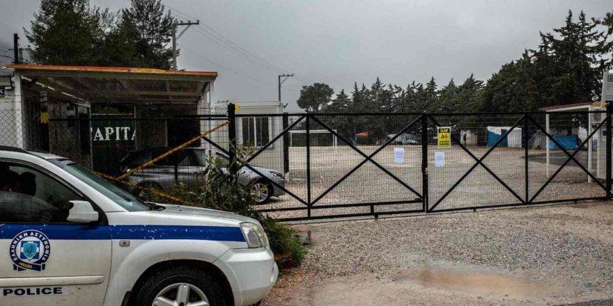 Yunanistan'da Malasaka mülteci kampı karantinaya alındı