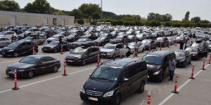 1 yılda 1 milyon araç artışı