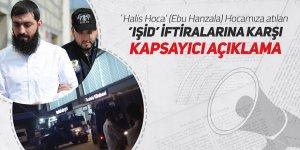 Ebu HanzalaHocamıza atılan IŞİDiftiralarına karşıaçıklama