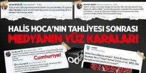 Halis Hoca'nın tahliyesi sonrası medyanın yüz karaları