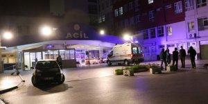 Covid-19 taşıyan kişi, hastane penceresine çarşaf bağlayarak kaçtı