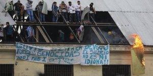 Arjantin'de mahkumlar isyan çıkardı