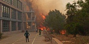 KKTC'deki yangınla ilgili bir kişiye gözaltı