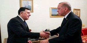 Libya Başbakanı Serrac Ankara'ya geldi