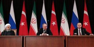Türkiye, Rusya ve İran arasındaki üçlü görüşme sona erdi