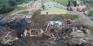 Havai fişek fabrikasındaki patlamada ölü sayısı yükseldi