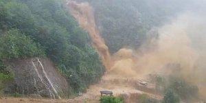 Rize'de 12 köye ulaşmak için çalışmalar sürüyor