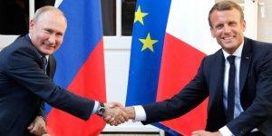 Fransa'da, Putin-Macron görüşmesinin içeriğini paylaşan gazeteler hakkında soruşturma başlatıldı