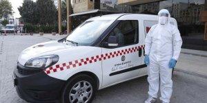 Covid-19 hastalarına özel 'Pozitif Taksi'