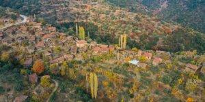 İzmir'in en ücra köşesinde güzellikler içinde bir garip köy