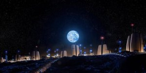 Ay'da kurulacak koloninin görselleri yayınlandı