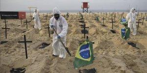Brezilya'da korkutan rakam! Bir günde 3 bin 251 kişi hayatını kaybetti