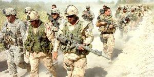 ABD ve NATO askerleriAfganistan'dan çekilmeyebaşladı