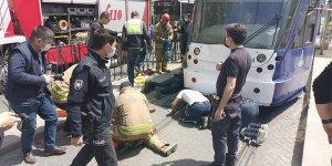 Tramvayın altında kaldı denilen yurttaş intihar etmiş