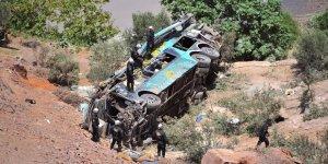 Peru'da otobüs kazası: 27 ölü, 16 yaralı