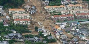 Japonya'da heyelan: 20 kişi kayboldu
