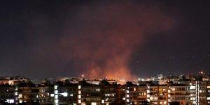 İsrail'in Suriye'de Esed rejime ait askeri noktalara hava saldırıları düzenlediği ileri sürüldü