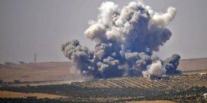 İsrail'den, Esed rejimine ait askeri noktalara hava saldırısı