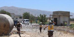 İdlib'te sağlık merkezine saldırı, bir kişi öldü, bir çocuk da yaralandı