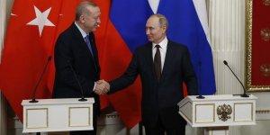 Cumhurbaşkanı Erdoğan, Rusya Devlet Başkanı Putin ile Soçi'de bir araya geldi