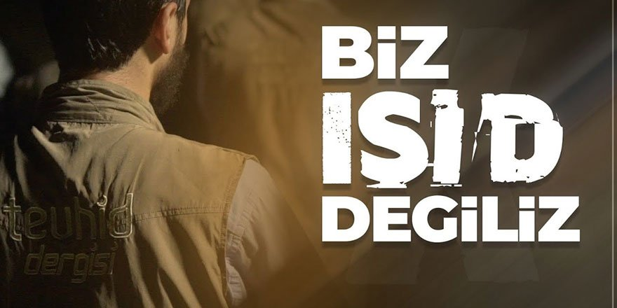 Tevhid Dergisi'ne atılan IŞİD iftirası