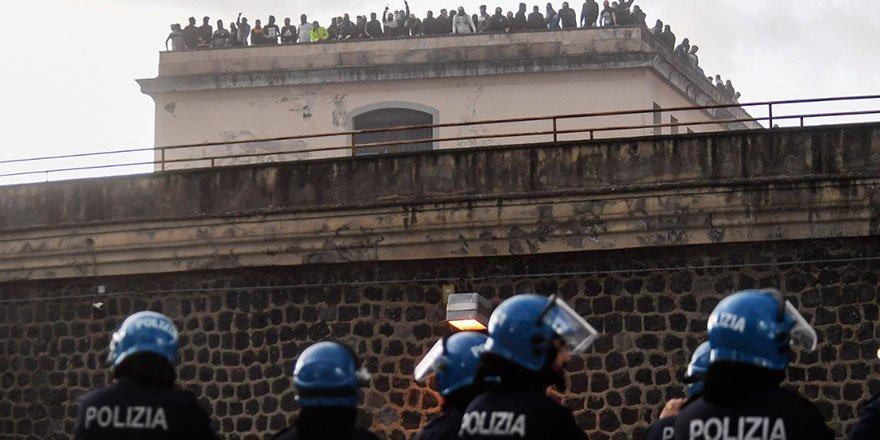 İtalya'da isyanlar ülke geneline yayıldı