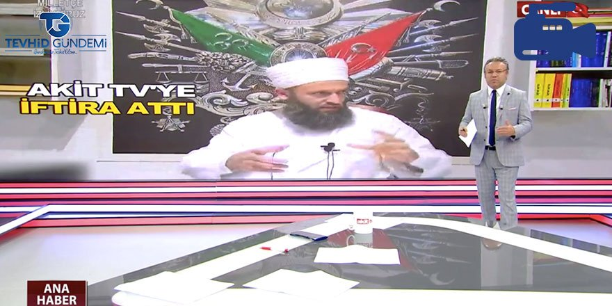 Halis Hoca haberi sonrası Akit TV'ye çirkin iftira