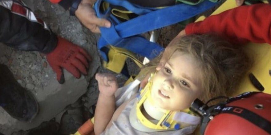 91 saat sonra canlı olarak çıkartılan Ayda bebeğin enkaz altındaki ilk anları